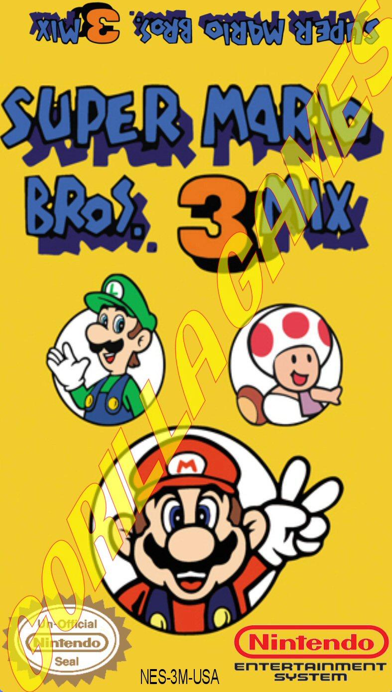 logo super mario bros 3 mix